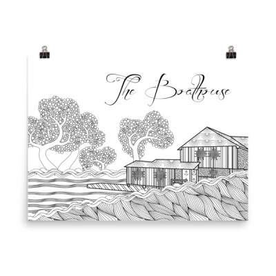 Sweet Briar College Poster – The Boathouse