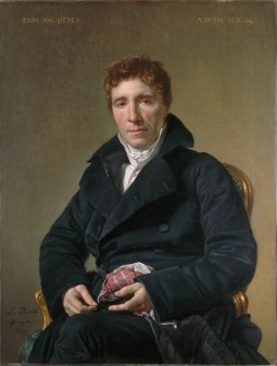 Emmanuel Joseph Sieyès par  Jacques Louis David  Crédit photo : Wikicommons