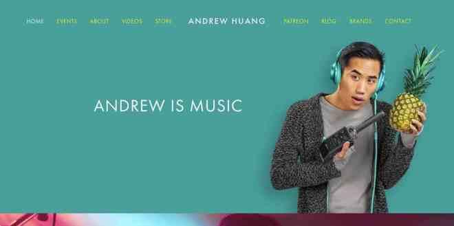 Andrew Huang Website