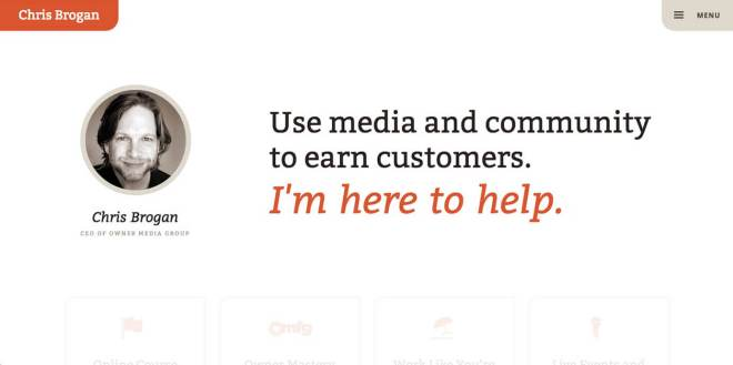 Chris Brogan Website