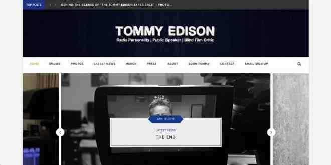 Tommy Edison Website