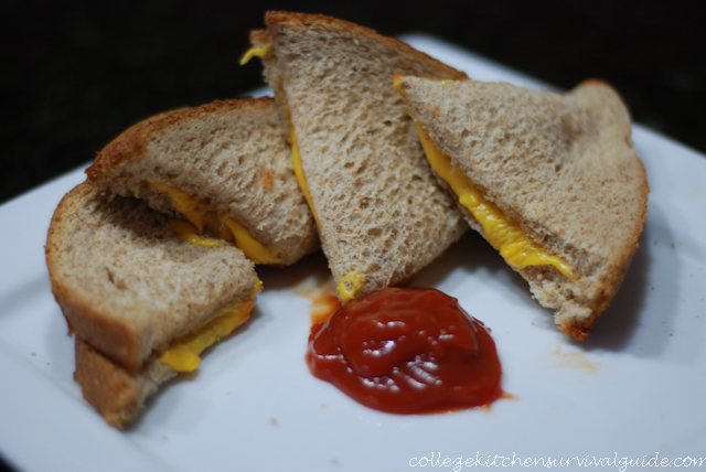 grilled cheese in the microwave the