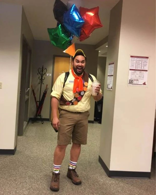 You can still rock a hilarious costume like these for a movie marathon. 40 Seriously Awesome Halloween Costumes For College Guys