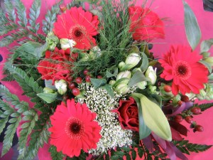 Say thank you with flowers