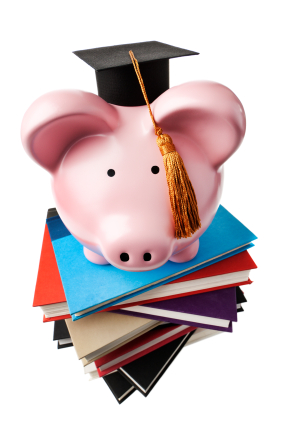 piggy bank for student financial planning
