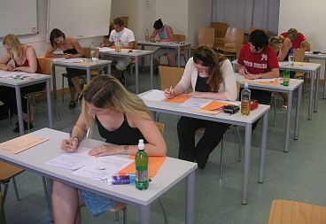 students taking SAT