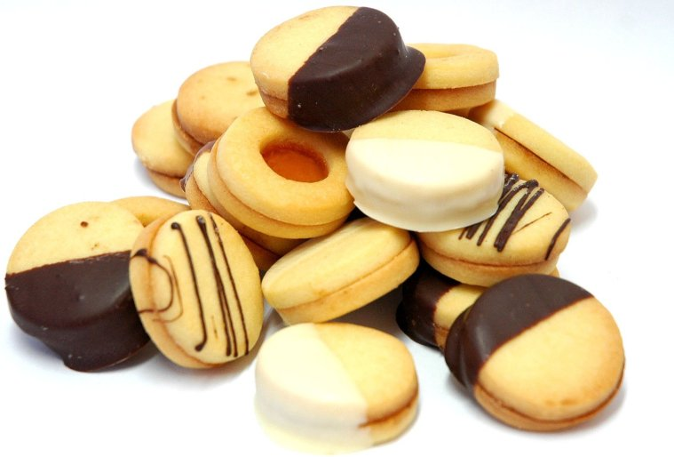 An image of butter biscuits, one of the all time favorite snacks.