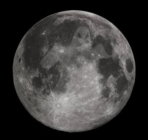 Ghosts on the moon?