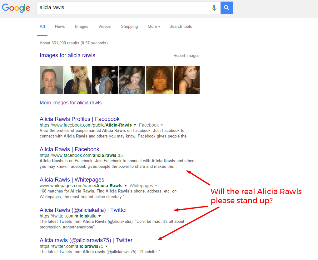 Control What Shows Up When Someone Googles Your Name: Step