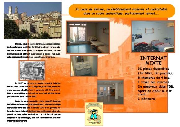 brochure internat 2