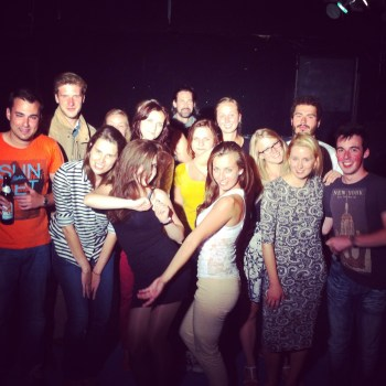 Cast and Crew of our Short Film