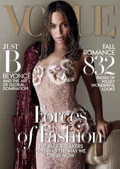 Image 1 Beyoncé Vogue US cover September 2015