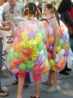 Fashion- Last min costumes- jelly beans