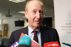 Sports Minister Shane Ross Accidentally Pledges Increased Sports Funding to 'Rowing Hero' Gary Hutch