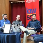 Two Door Cinema Club Visits UCD Lawsoc