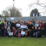 UCD Students Show Opposition to Rent Increases In Daytime Tent Action