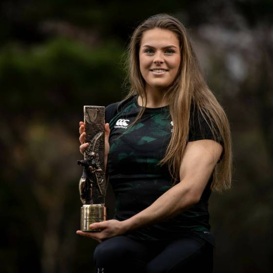 Beibhinn Parsons Named Guinness Rugby Writers of Ireland Women's Player of the Year 21/1/2021 Mandatory Credit ©INPHO/Morgan Treacy