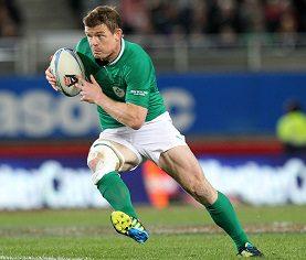 Ireland Captain Brian O'Driscoll 9/6/2012