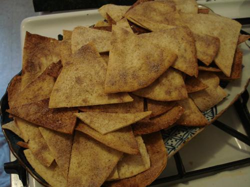 Baked Cinnamon Sugar Chips