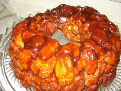 Monkey Bread recipe from CollegiateCook.com