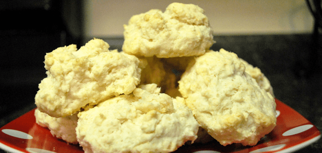 Easy homemade biscuits by Samantha Trueheart