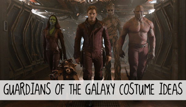 Guardians of the Galaxy costume ideas
