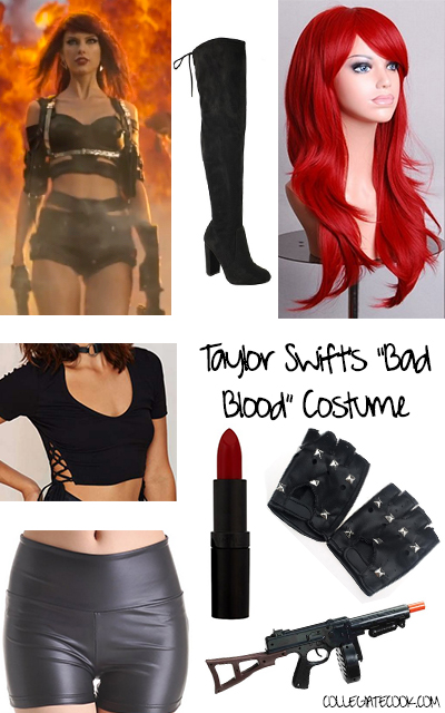 Taylor Swift Costume Idea, via CollegiateCook.com