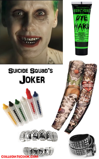 Suicide Squad Costumes - Jared Leto as Joker Costume