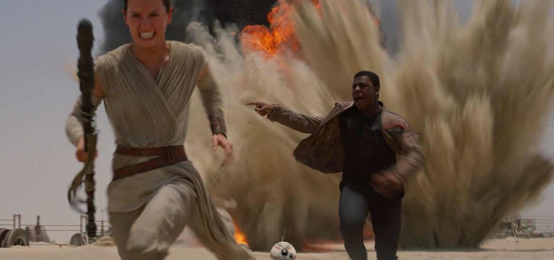 Rey Photo: Star Wars: The Force Awakens/Lucasfilm
