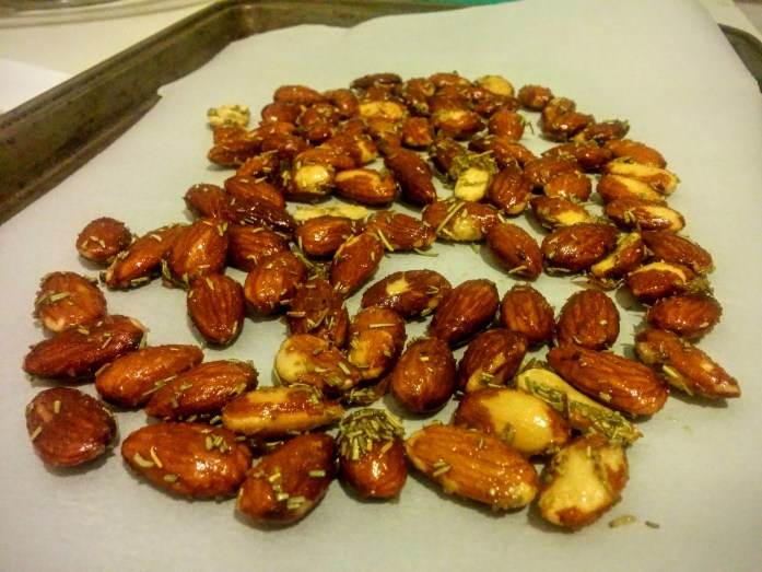Black Truffle Rosemary Almonds from Allgood Provisions
