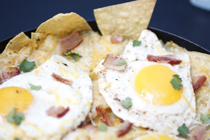 How to make chilaquiles, AKA baked breakfast nachos - Photos: Nathan Davison