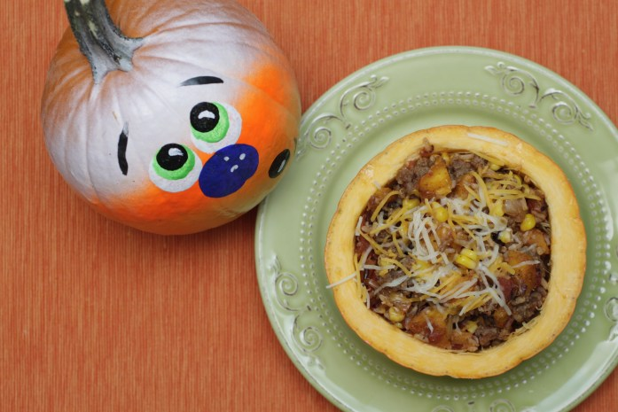 how to make stuffed pumpkins