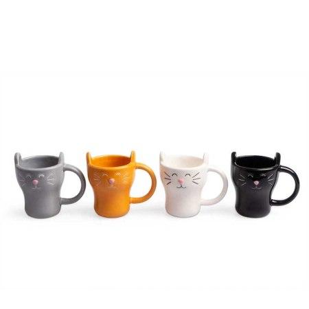 set de café de gatitos