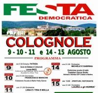 Il programma della Festa Democratica a Colognole