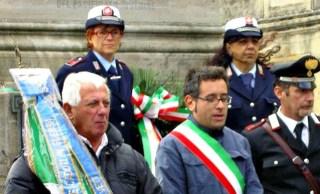 Un'istantanea della Commemorazione ai Caduti dello scorso anno