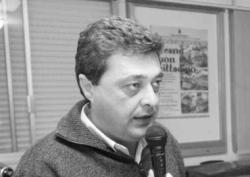 Il segretario del Pd di Collesalvetti Maurizio Scatena