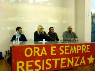 Simone Oggionni, Tiziana Bartimmo, Eric Gobetti, Lorenzo Cosimi