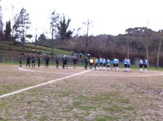 Le squadre scendono in campo