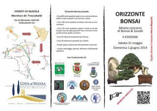 Manifesto Orizzonte Bonsai 1