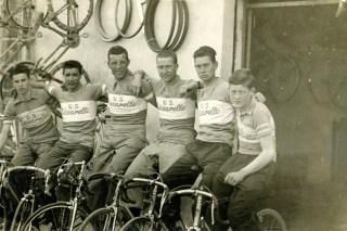 Ancora la squadra in uno scatto del 1959 (Foto di Carlo Carmassi)