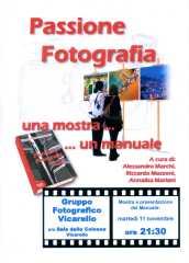 Manifesto presentazione libro Passione Fotografia
