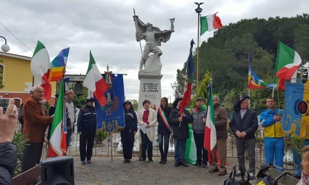 A VICARELLO SI CELEBRA LA GIORNATA DELL'UNITÀ NAZIONALE E DELLE FORZE ARMATE