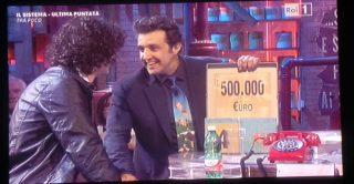 """IL COLOGNOLESE ALBERTO BINDI VINCE 500.000 EURO AD """"AFFARI TUOI"""""""