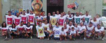 Palio dei Rioni Castell'Anselmo 2016 - squadre tutte assieme