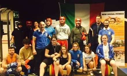 DALLA PALESTRA EOS DI STAGNO LE 3 CAMPIONESSE ITALIANE DI SOLLEVAMENTO PESI
