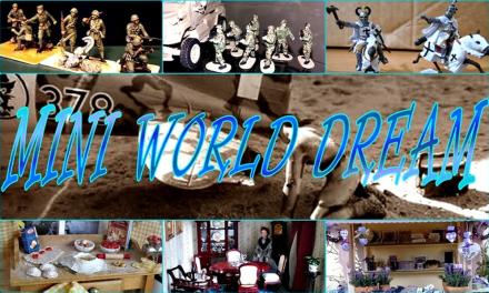 A STAGNO VA IN SCENA IL MINI WORLD DREAM DOVE IL MONDO DELLE DOLL'S HOUSE SI UNISCE AL MODELLISMO