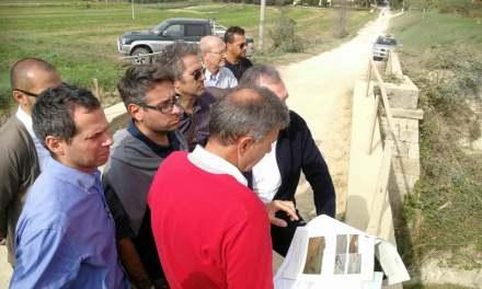 STAGNO, SULL'UGIONE INTERVENTI DI RIALZAMENTO E INGROSSAMENTO DELLE ARGINATURE DEL TORRENTE