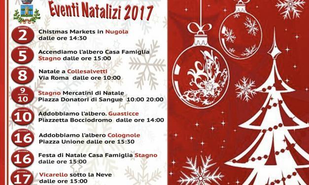 TUTTE LE FESTE DI NATALE DEL TERRITORIO COLLIGIANO