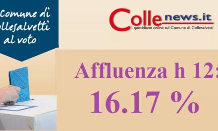 BALLOTTAGGIO: AFFLUENZA ALLE URNE AL 16,17 % ALLE 12