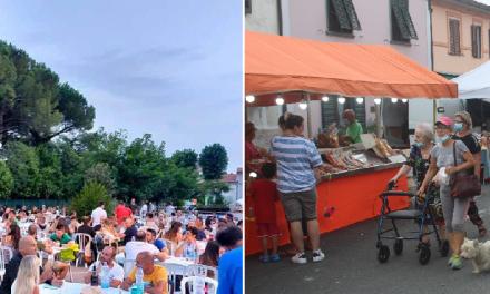 A VICARELLO È FESTA GRANDE FRA FIERA PAESANA E CENA COMUNITARIA IN PIAZZA